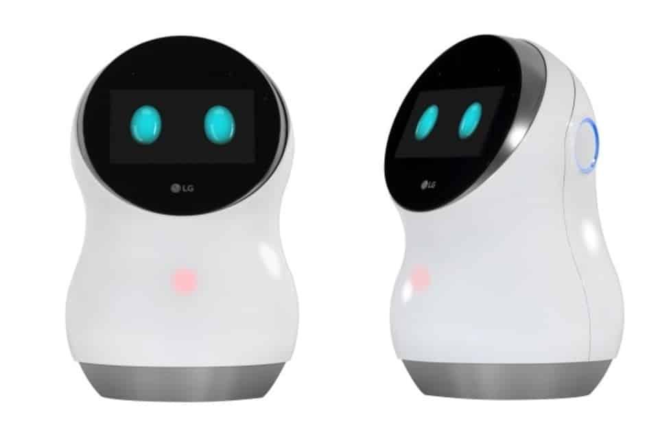 hub robot lg ces 2017