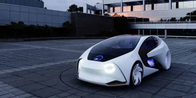 CES 2017 : Toyota présente son nouveau concept car entièrement doté d'IA