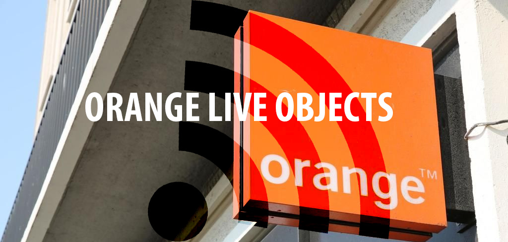 orange live objects comparatif plateforme iot