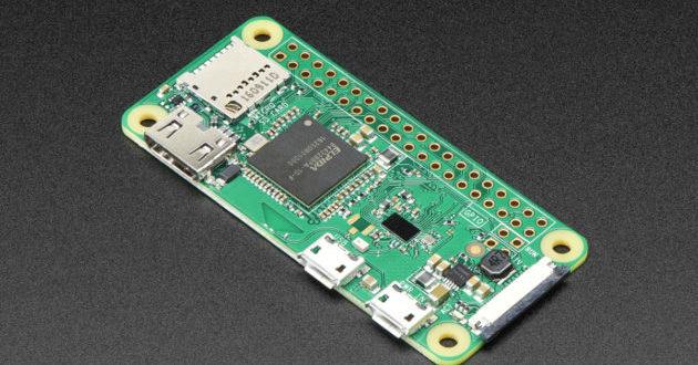 Raspberry Pi Zero W : un nouveau modèle doté du Wi-Fi pour 10 $