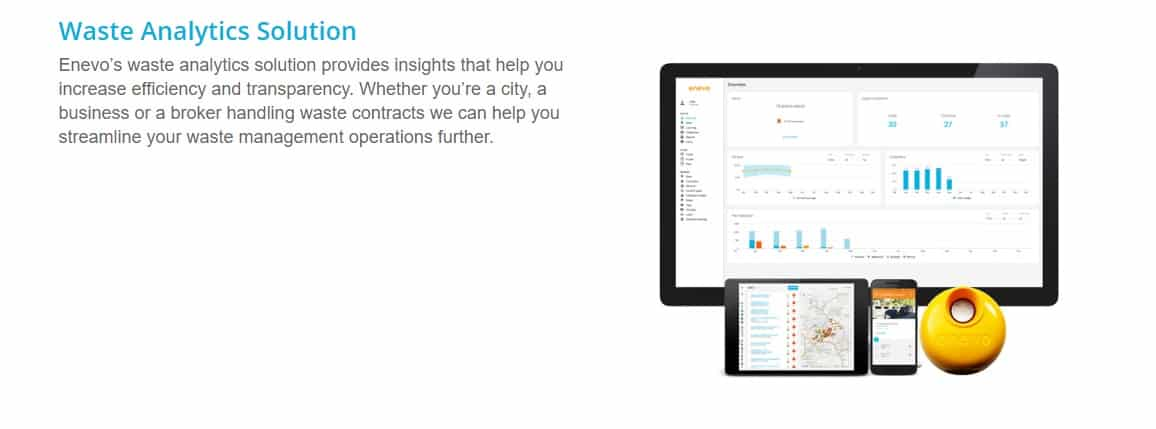 dechet smart city startups