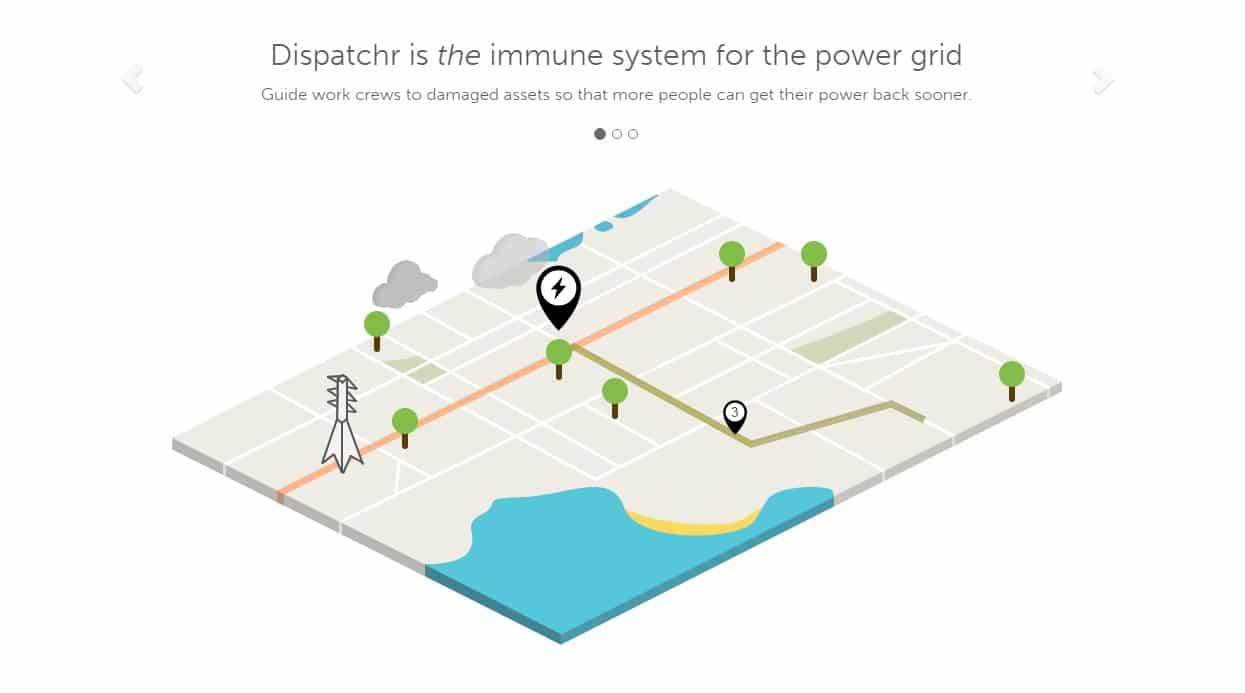 dispatchr startup smart city