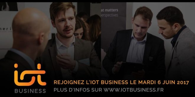 Obtenez une réduction sur le salon de l'Industrie 4.0 IoT Business !