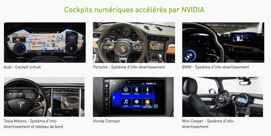 Nvidia : un futur grand acteur du marché des voitures autonomes