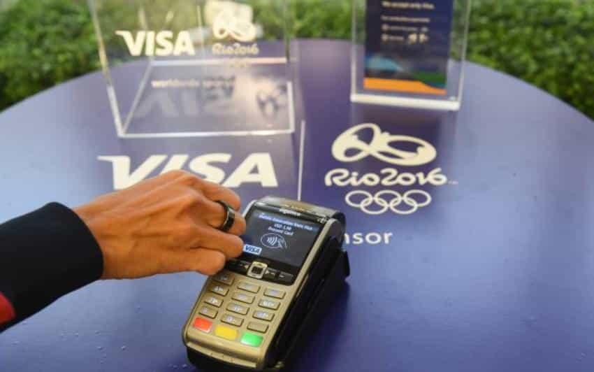 La bague de Visa : un moyen de paiement sans fil