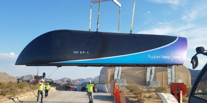 Hyperloop test succès entré dans l'histoire nevada Musk