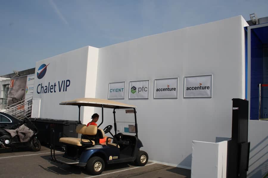 bourget chalet vip