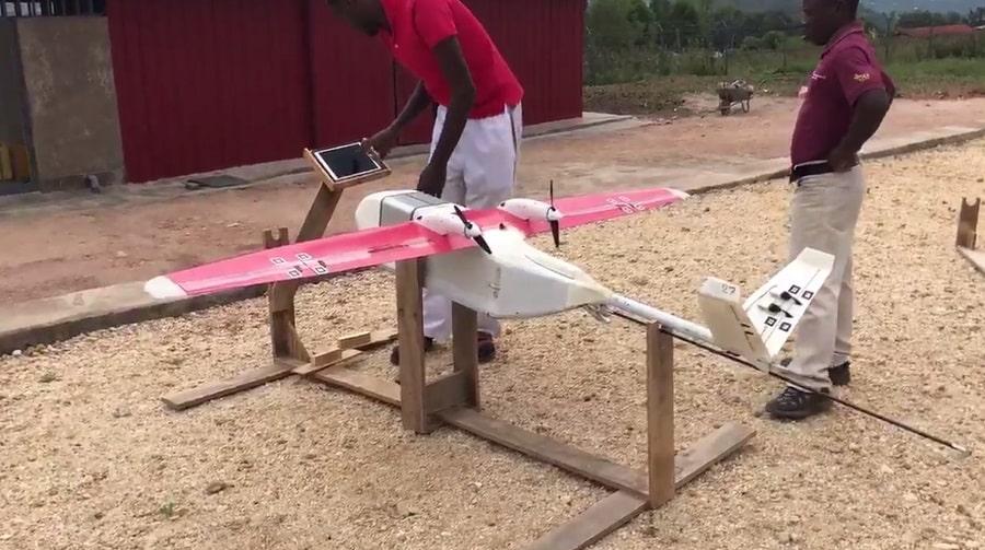 drones professionnels zipline