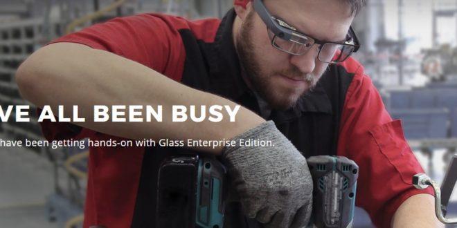 Google Glass 2 : le retour… sur la scène industrielle