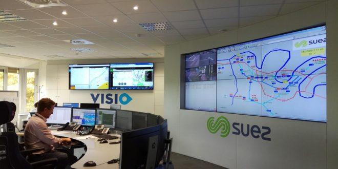 VISIO de Suez, un centre intelligent pour contrôler la distribution de l'eau