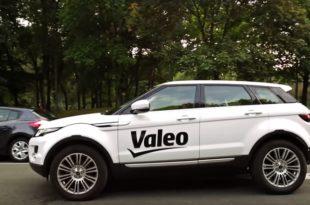 valeo range rover voiture autonome