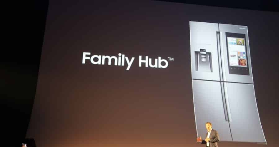 samsung smart home family hub