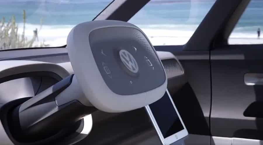 volkswagen combi id buzz volant
