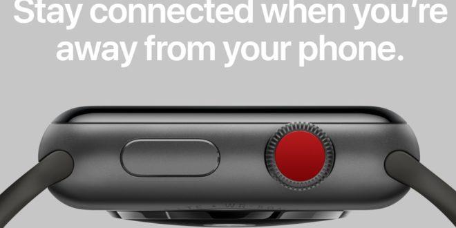 Apple Watch Series 3: des problèmes de connexion avant le lancement