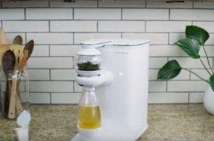 teforia machine à thé connectée