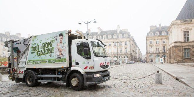 suez Valovisio ordure connecté ramassage ordure intelligent capteur bennes camions poubelle connecté