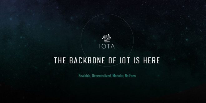 marketplace iot iota