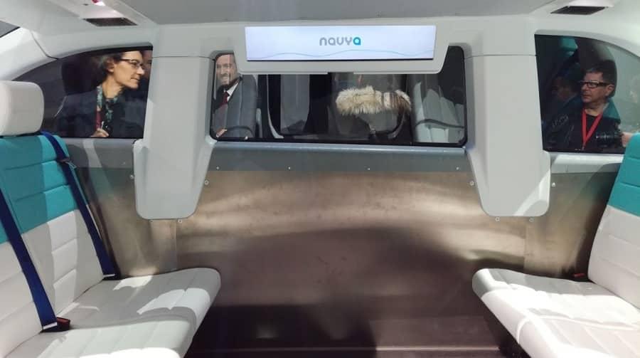 navya autonom cab interieur