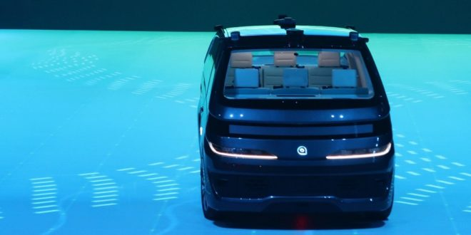 navya presentation voiture autonome ces 2018