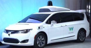 waymo conduite semi autonome