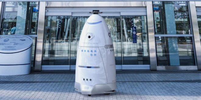 robot de sécurité knightscope san francisco