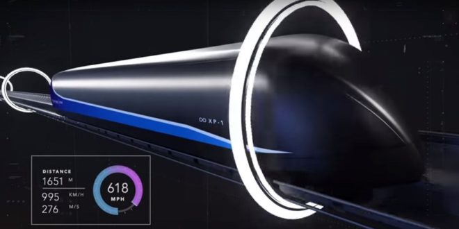 virgin hyperloop one projet