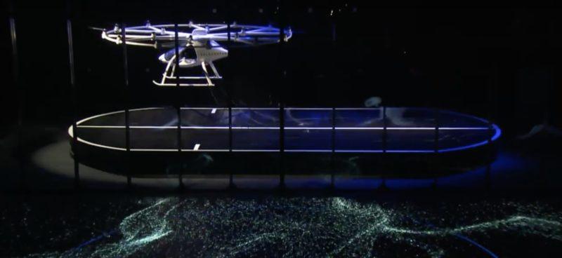 Volocopter vol sur scène