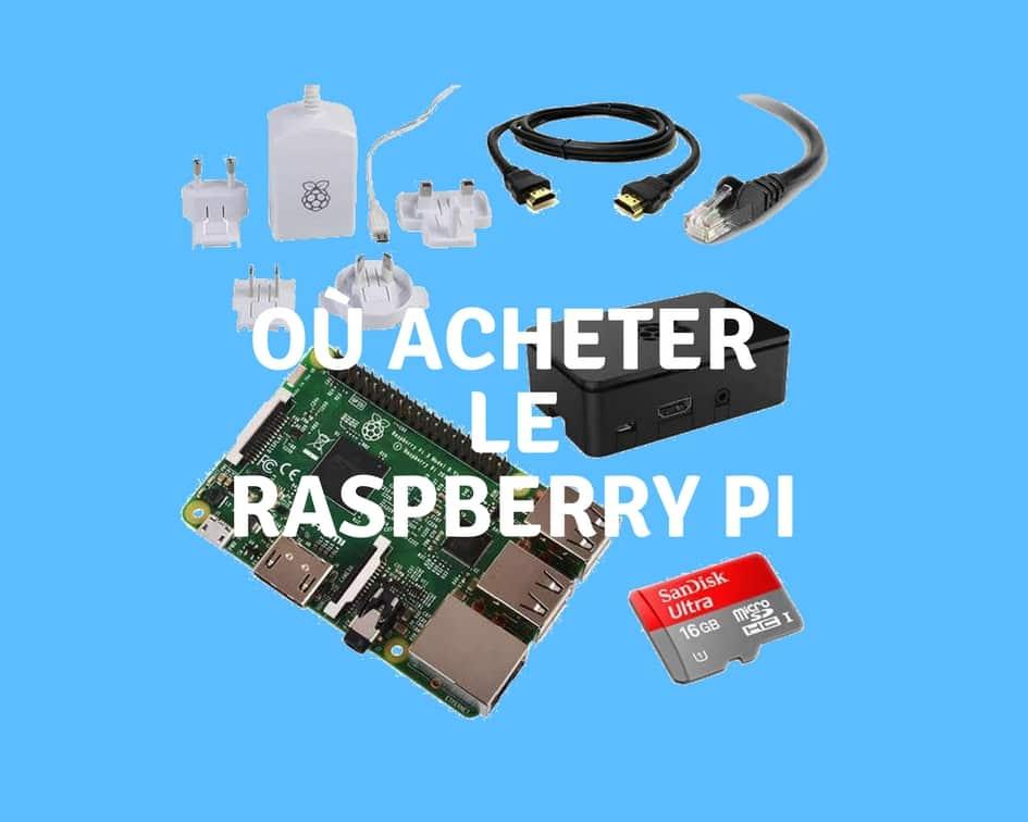 achat raspberry pi