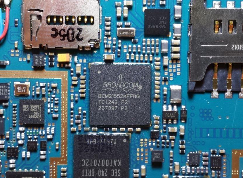 broadcom soc système sur une puce