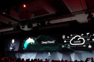 deepthink, lg, iot, intelligence artificielle, ces 2018, las vegas