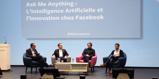 Facebook, conférence, intelligence artificielle, france