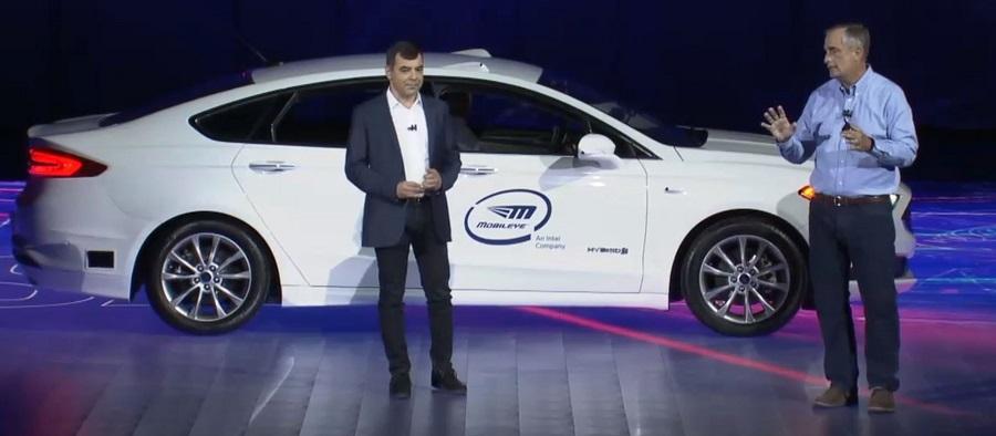 intel mobileye flotte voiture