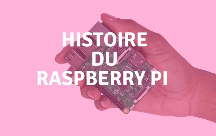 raspberry pi histoire