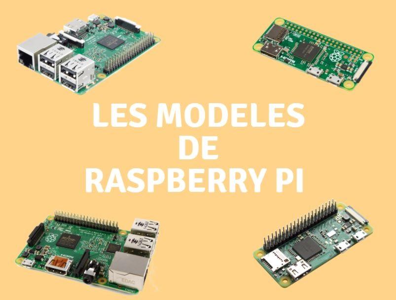 raspeberry pi modeles