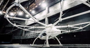volocopter sur scene