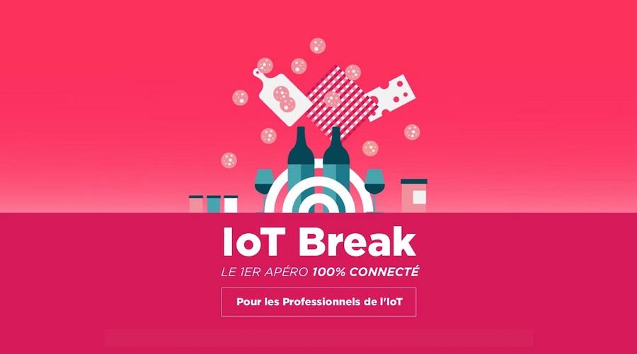 IoT Break #4 : le rendez-vous incontournable revient le 8 mars 2018 !