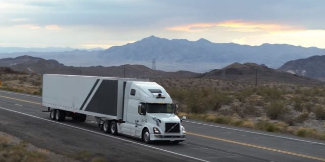 camions autonomes uber freight