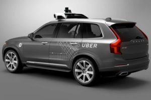 uber accident mortel voiture autonome
