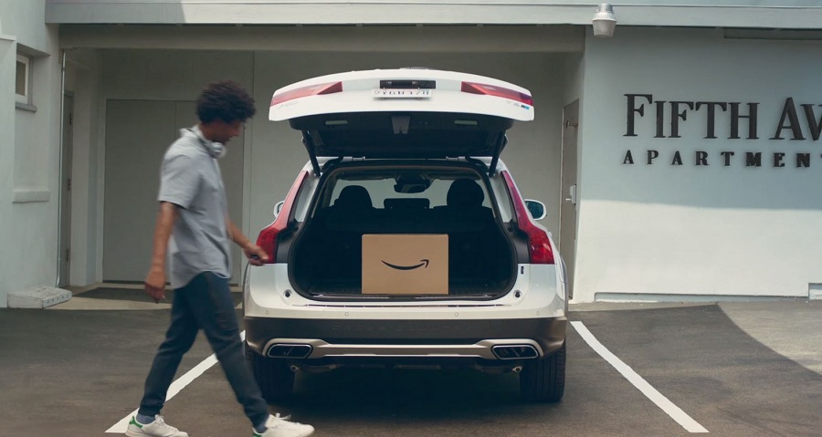 amazon key voiture