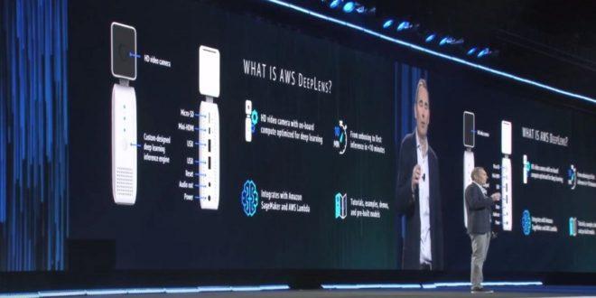 AWS DeepLens : la caméra connectée nourrit au Deep Learning disponible