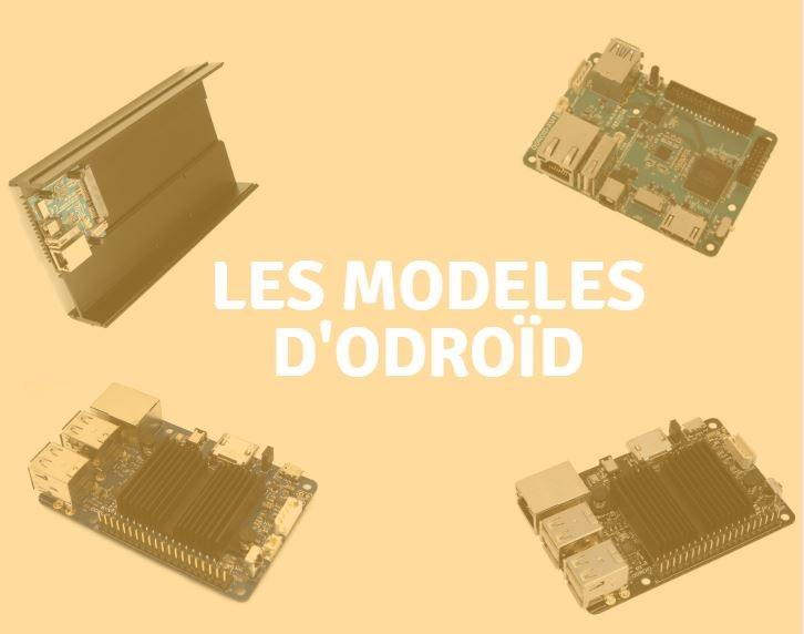 modeles odroid
