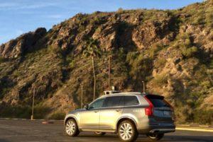 voiture autonome uber accident