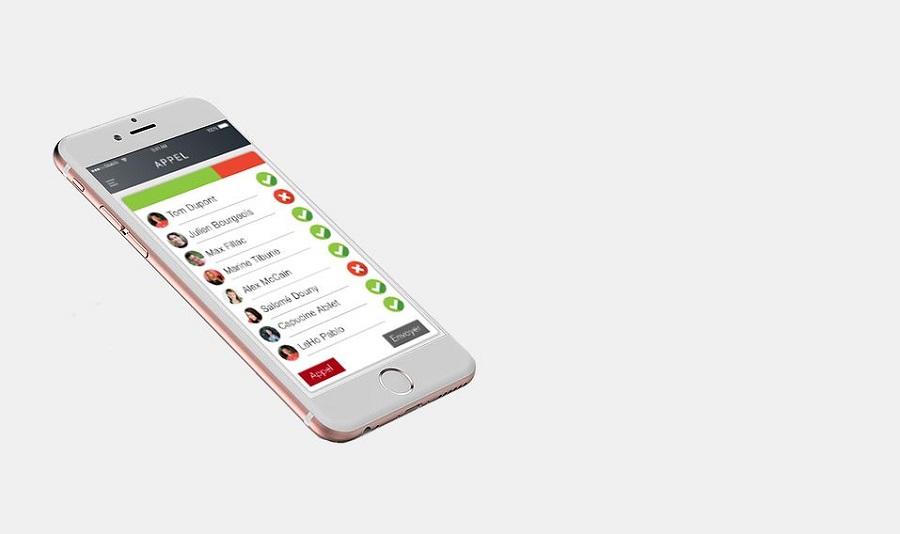 porte-cles connecte application