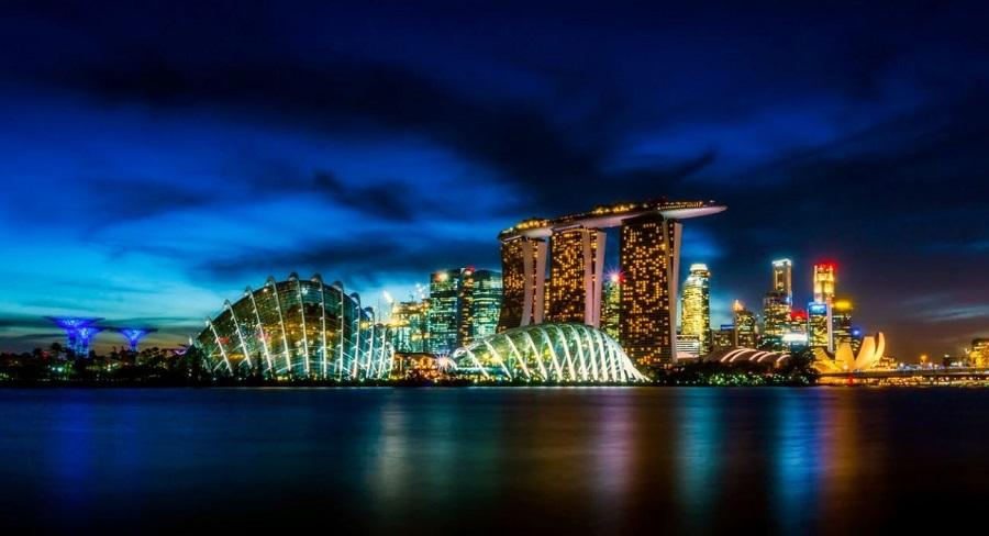schneider electric singapour bâtiment connecté