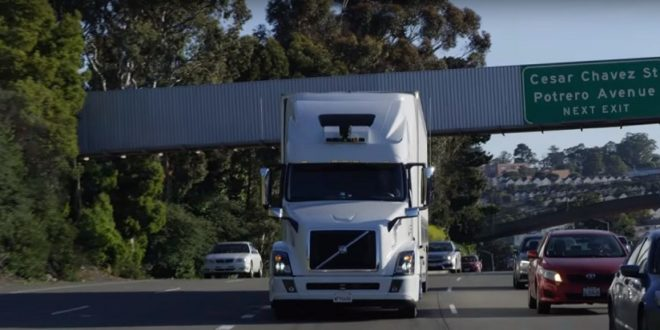 uber fin camions autonomes