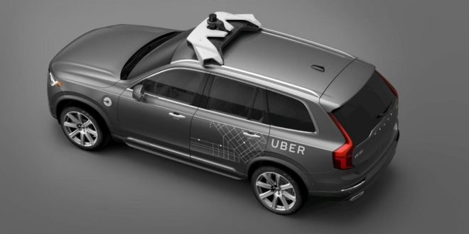 uber voitures autonomes