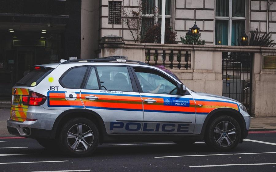 smart city policière voiture