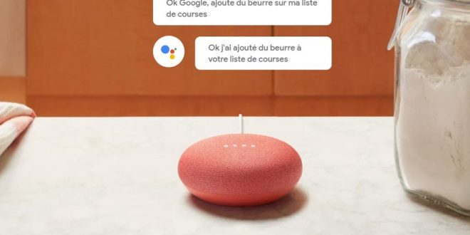 google home mini vente
