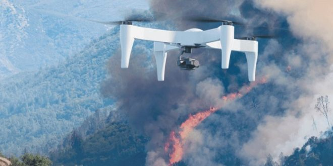 impossible aerospace drone pompier