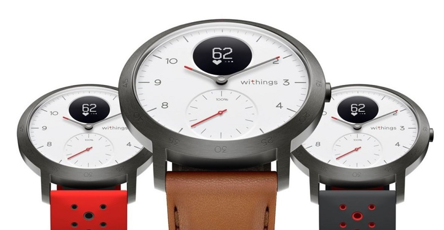 withings steel hr sport cuir